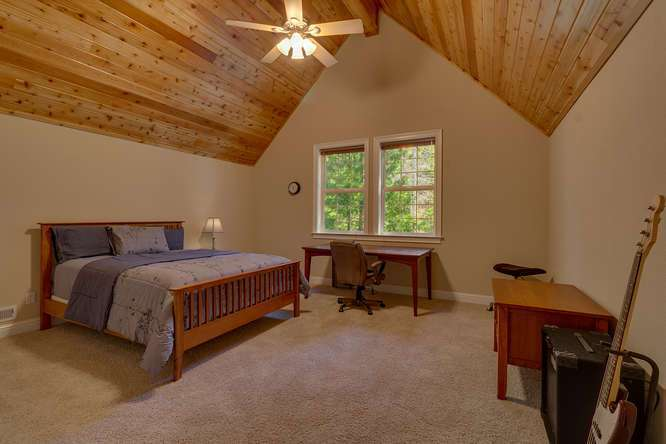 Lake Tahoe Luxury home for sale | Guest bedroom