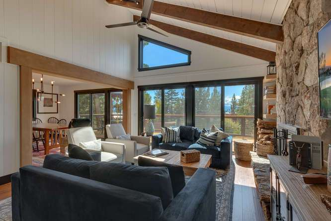 Luxury Lake Tahoe Real Estate for Sale | 3185 Meadowbrook Drive | Living Room