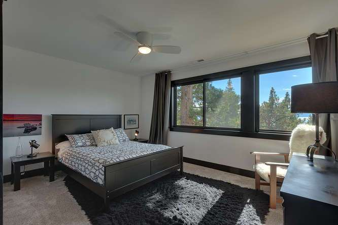 Lake Tahoe Home for Sale | 3185 Meadowbrook Drive | Master Bedroom Ensuite