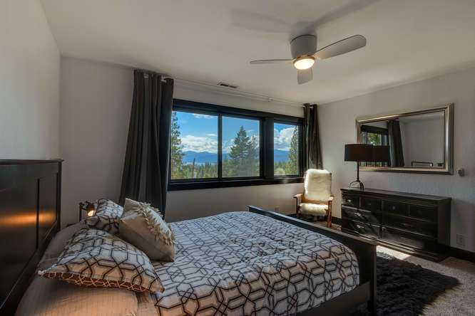 Lake Tahoe Luxury Home for Sale | 3185 Meadowbrook Drive | Master Bedroom Ensuite