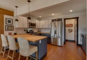 North Lake Tahoe Real Estate | 3185 Meadowbrook Drive | Kitchen and Breakfast Bar