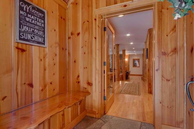 Mud Room | Carnelian Bay Luxury Home