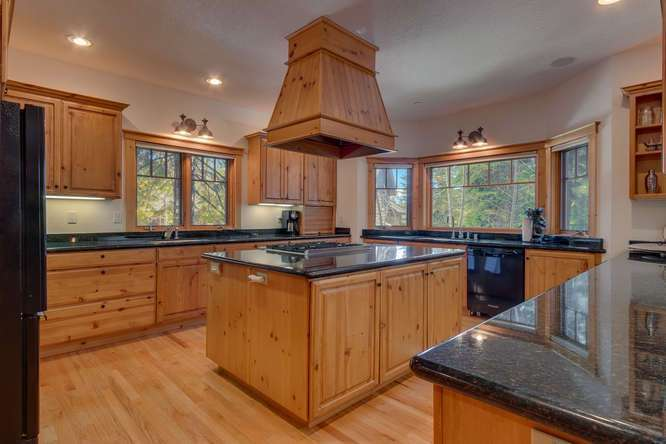 Chef's Kitchen | Carnelian Bay luxury home