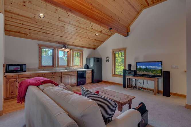 Guest Apartment | Carnelian Bay Luxury Home
