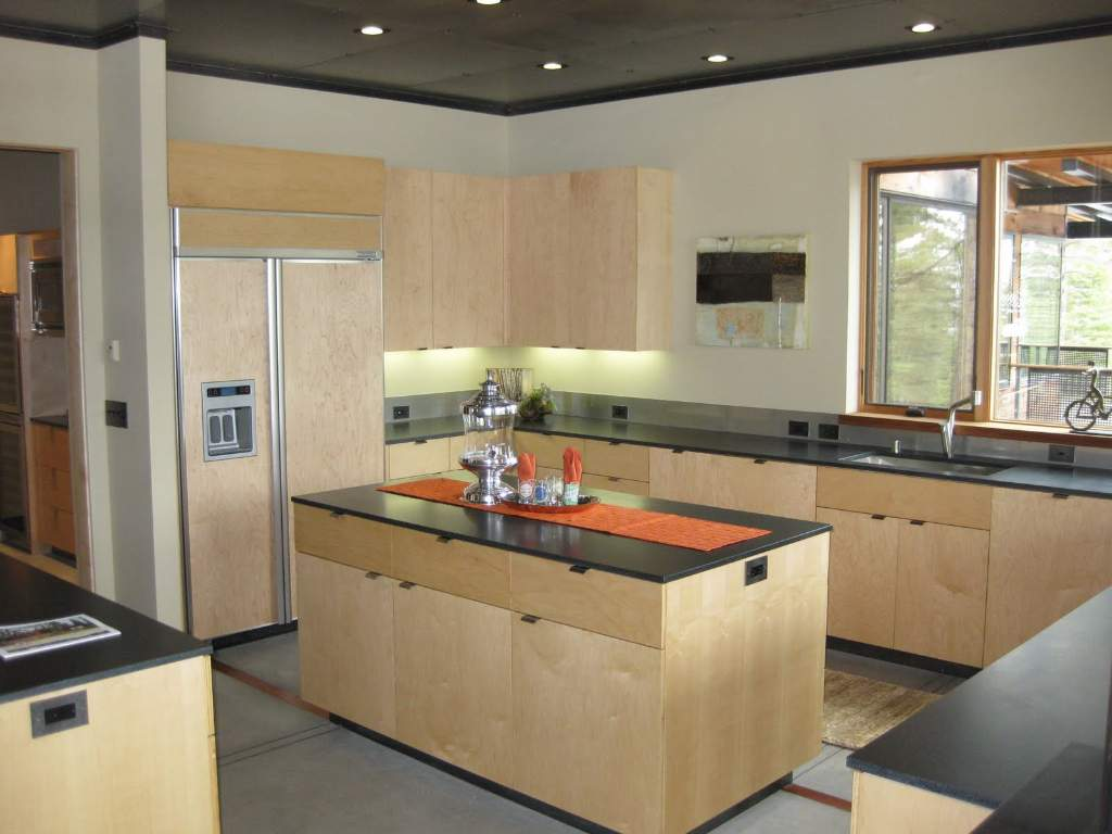 Contemporary Faulkenr Martis Camp Real Estate Kitchen