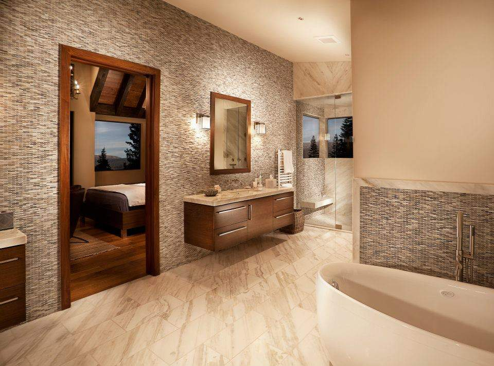 Contemporary Martis Camp Luxury Bathroom | Martis Camp Real Estate