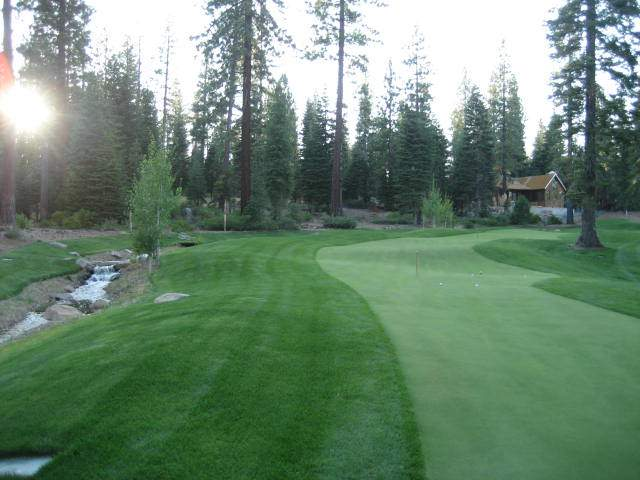 Martis Camp 18 hole Putting Course