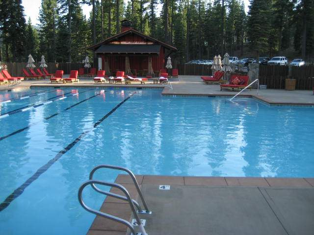 Martis Camp Swimming Facility at the Family Barn | Martis Camp Real Estate