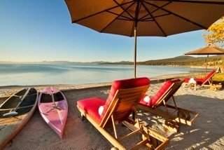 Martis Camp Beach Shack on Lake Tahoe