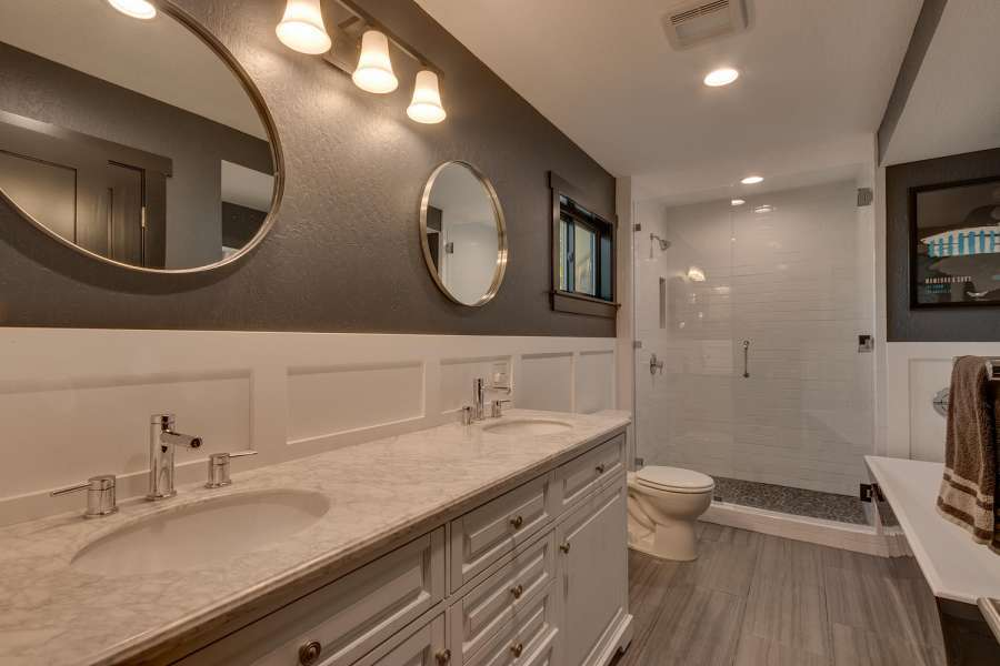 Luxury Bathroom in Tahoe City