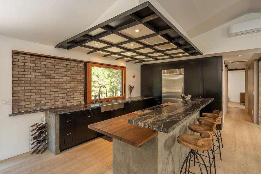 Modern Mountain Gourmet Kitchen