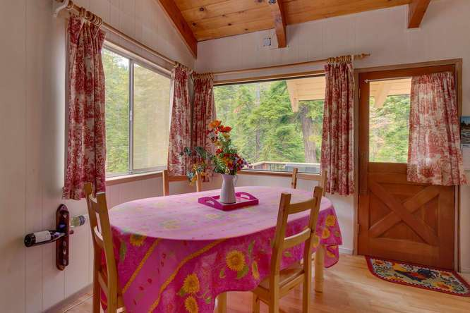West Shore Cabin for Sale | 432 Sierra Dr Tahoma CA 96142 | Dining Room