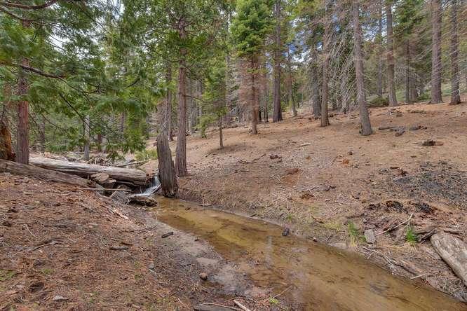 Lake Tahoe Real Estate | 432 Sierra Dr Tahoma CA 96142 | Creek