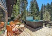 Spacious deck with hot tub | 1825 Deer Park Dr.