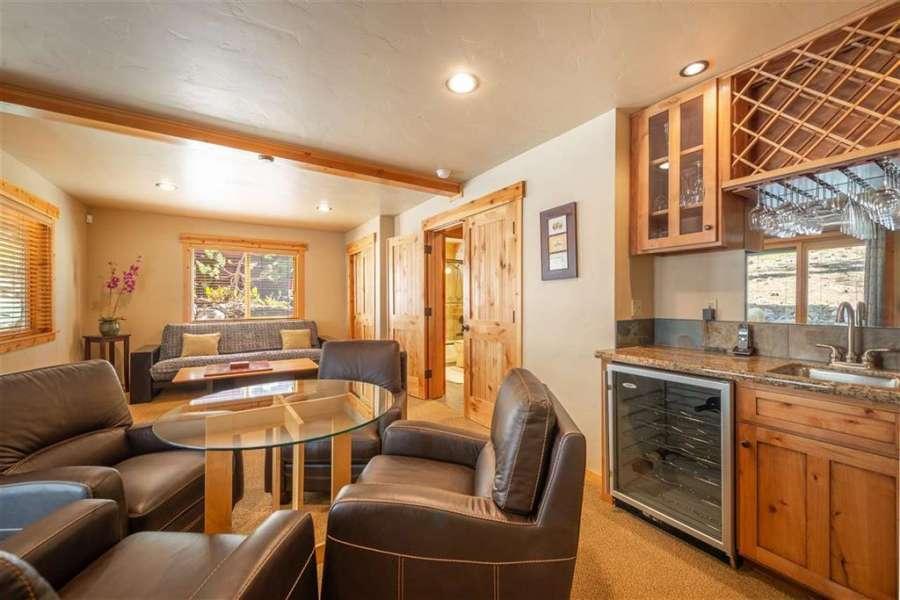 Family Room or 4th Bedroom | Tahoe Donner Getaway