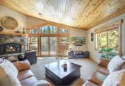 Gorgeous living room with vaulted ceilings   13151 Mulebach Way