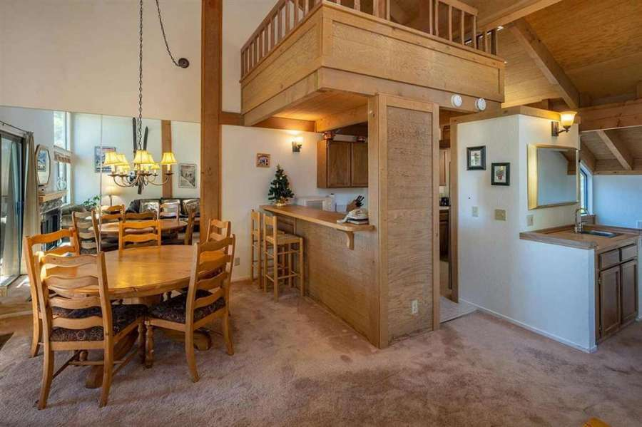 Kitchen and Dining area | Rare Northstar Townhome