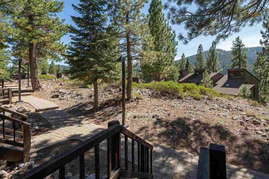 Back deck | Rare Northstar Townhome
