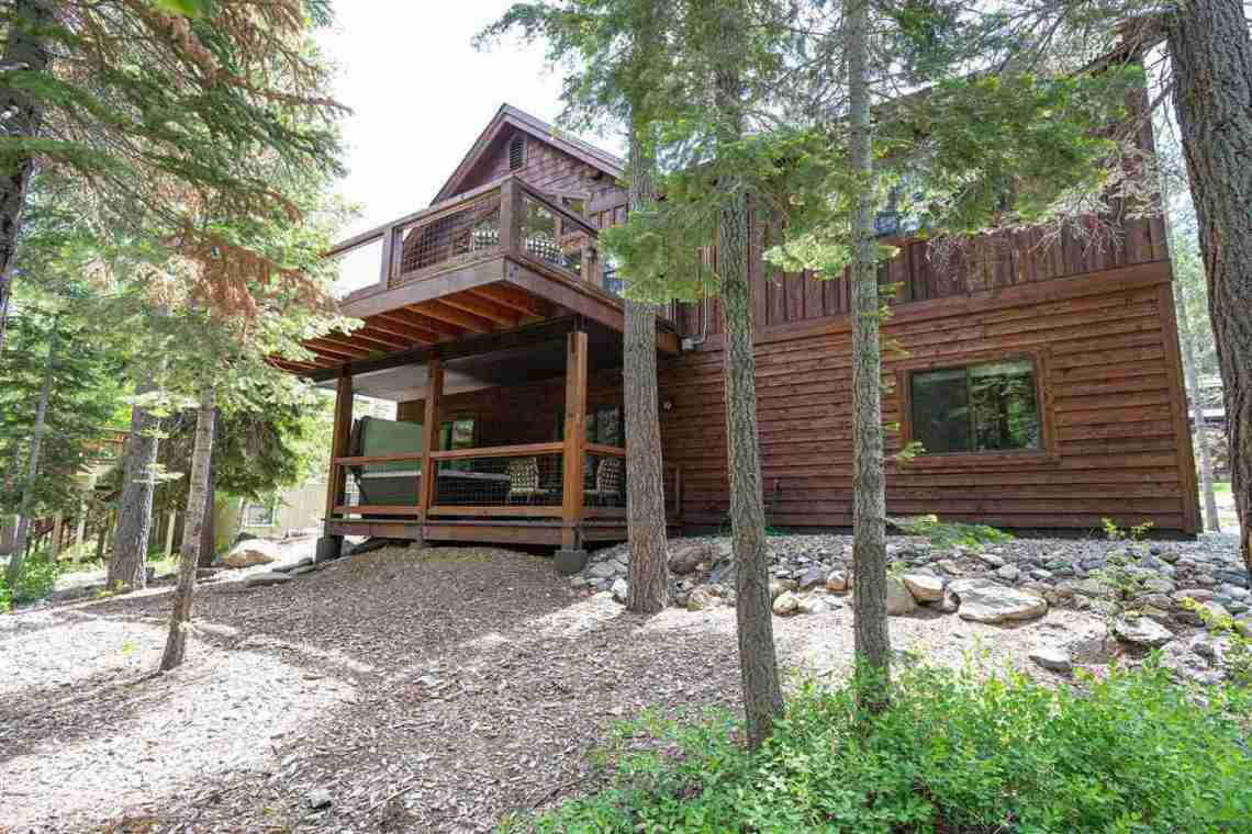 Tahoe Donner Property |  13988 Swiss Lane Truckee, CA | Exterior View