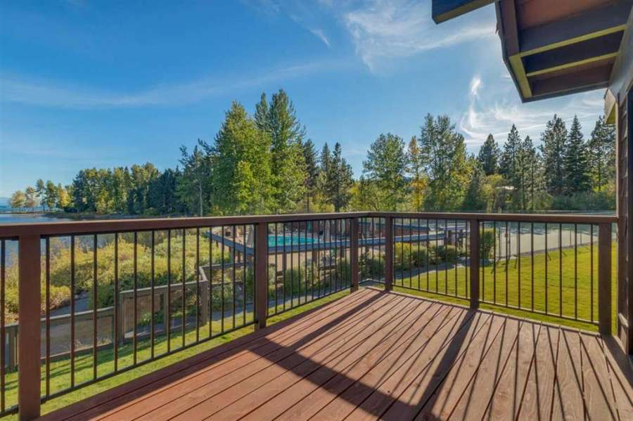 Spacious and sunny deck | 270 North Lake Blvd #33