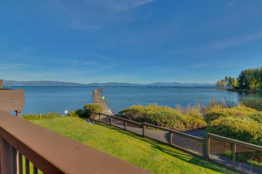 Lake views from deck  | 270 North Lake Blvd #33