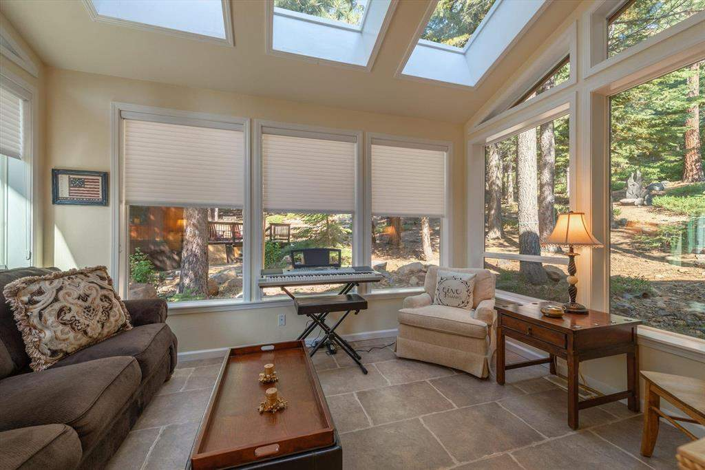 Family Room   Tahoe Donner Luxury Property