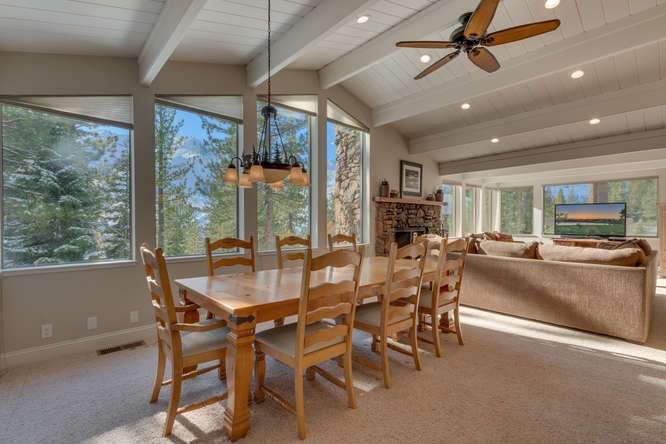 Squaw Valley Luxury Home | 1735-Paiute-Pl | Dining Room