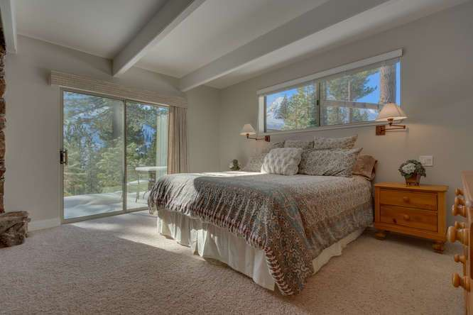 Squaw Valley Real Estate | 1735-Paiute-Pl | Master Bedroom En suite