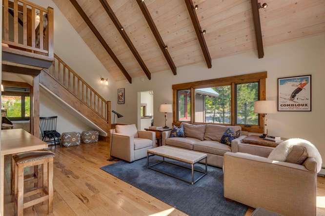 Squaw Valley Ski Resort Real Estate | 1083 Lanny Ln Olympic Valley | Living Room