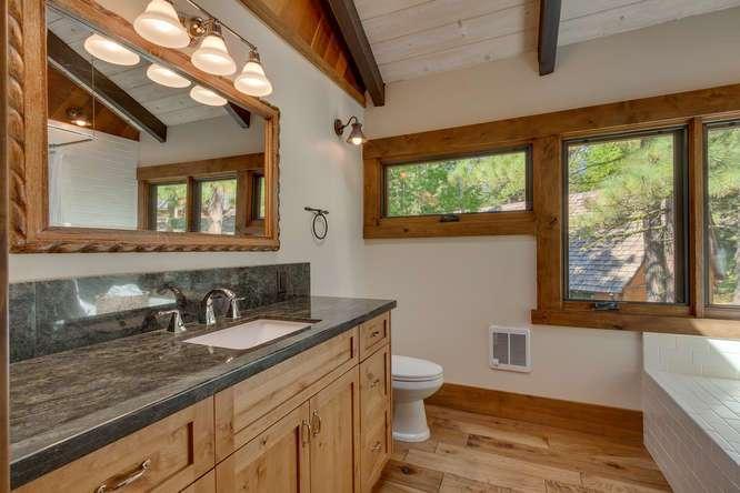 North Lake Tahoe Real Estate   1083 Lanny Ln Olympic Valley   Master Bath