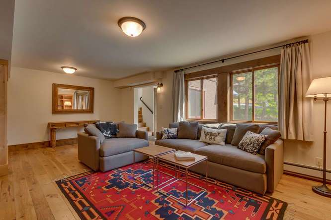 Luxury Lake Tahoe Real Estate | 1083 Lanny Ln Olympic Valley | Family Room