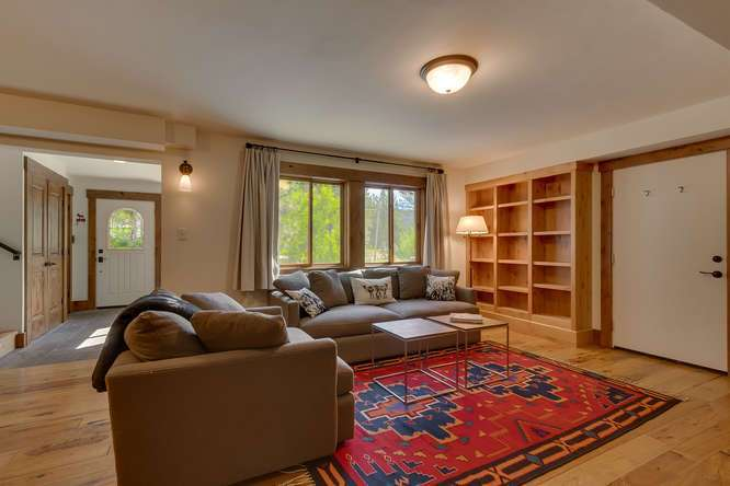 Lake Tahoe Luxury Real Estate | 1083 Lanny Ln Olympic Valley | Family Room
