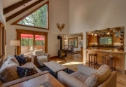 Squaw Valley Real Estate | 1083 Lanny Ln Olympic Valley | Living Room