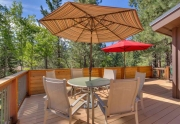 Squaw Valley Ski Resort Real Estate | 1083 Lanny Ln Olympic Valley | Patio