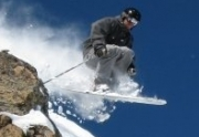 Squaw Valley Freeride Skiing