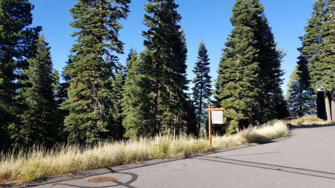 Truckee  Real Estate for Sale  | 10530 Aspenwood Rd |  Street View of Truckee Lot for Sale