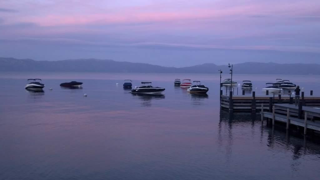 Lake Tahoe Sunset at Sunnyside