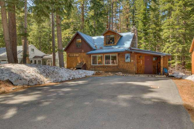 Cabin for sale Tahoe City | 1640-Cedar Crest Ave | Front Exterior
