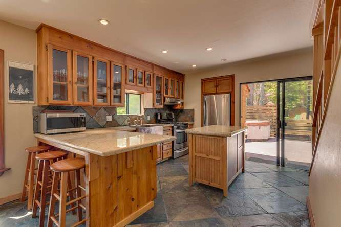 Tahoe City Cabin for sale | 1640-Cedar Crest Ave | Kitchen
