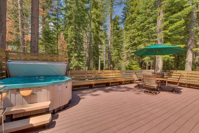 Cabin for Sale Tahoe City | 1640-Cedar Crest Ave | Deck