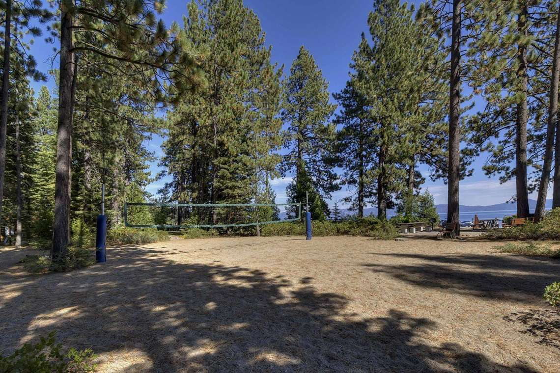Tahoe City Real Estate | 1640-Cedar Crest Ave | Tahoe Park Volleyball