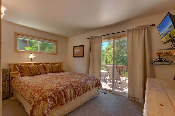 North Lake Tahoe Real Estate | 640 Rawhide Dr Tahoe City CA | Bedroom