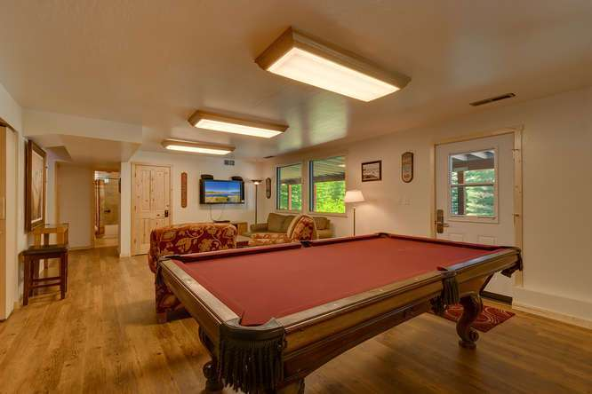 North Lake Tahoe Real Estate | 640 Rawhide Dr Tahoe City CA | Billiards