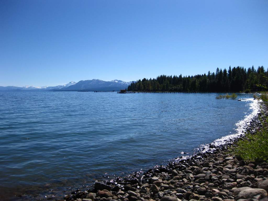 Commons Beach in Tahoe City | North Lake Tahoe Real Estate