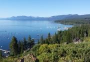 Tahoe City From Rocky Ridge