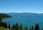 Lake Tahoe View From Rocky Ridge in Tahoe City