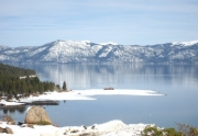 View From Rocky Ridge In Tahoe City