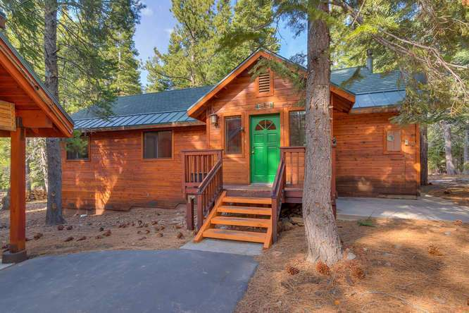 Tahoe Donner Real Estate in Truckee CA | Front View