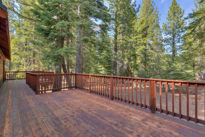 Truckee Real Estate | Deck