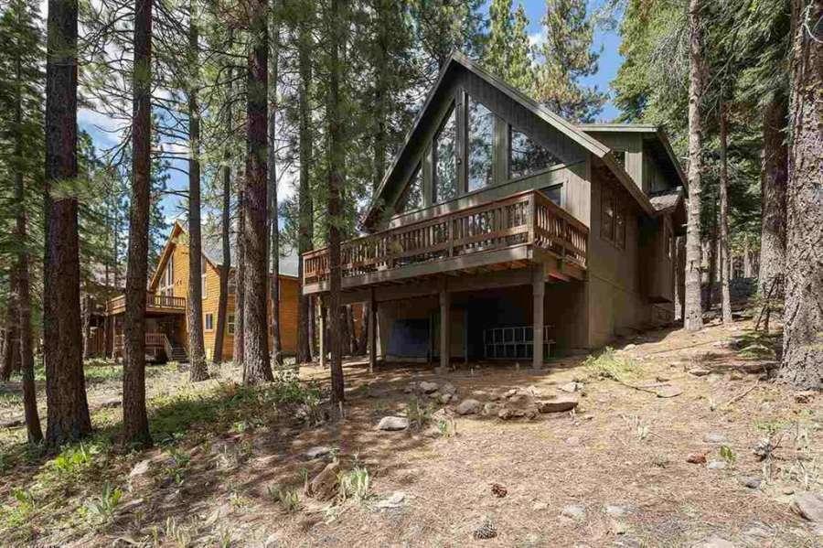 Wooded lot | Tahoe Donner getaway